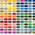 Bảng mã màu sơn PU, Cách pha màu sơn pu đúng quy trình cho đồ gỗ nội thất